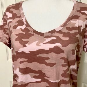 NWT PINK Victoria's Secret Perfect V-Neck T-Shirt